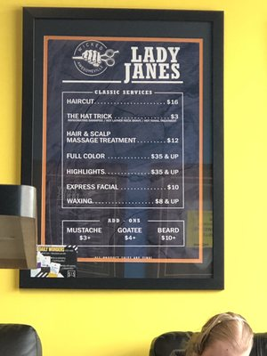Lady Jane's Haircut Prices : jane's, haircut, prices, Janes, Haircuts, 12411, Center, Omaha,, Salons, MapQuest