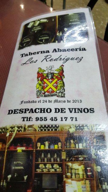Resultado de imagen de Taberna Abacería Los Rodríguez