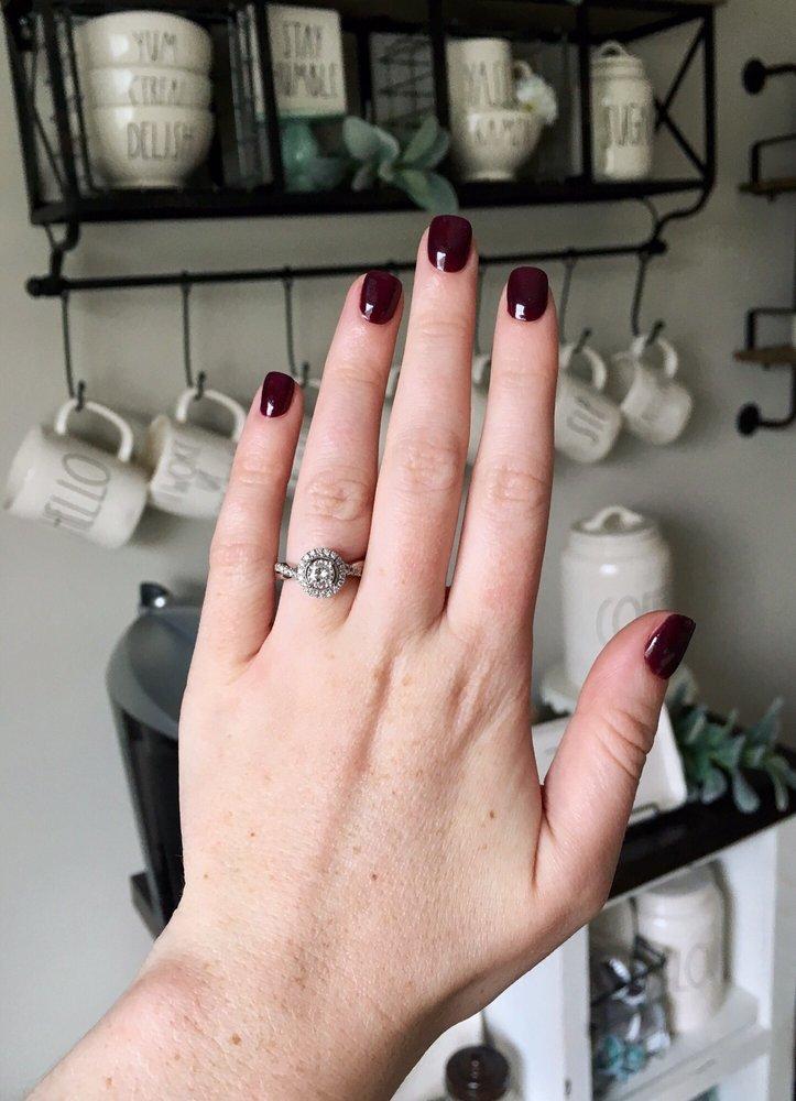 Can You Polish Over Dip Nails : polish, nails, Polish, Powder, Manicure, Trends