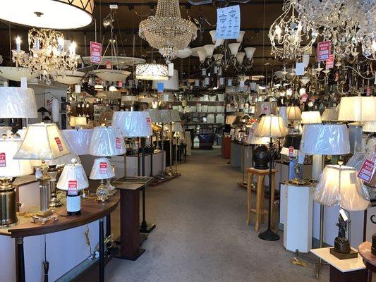 lamp lighting gallery 9691 fairfax