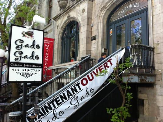 Gado Gado Indonesian Cuisine Opening Times in Montréal, QC