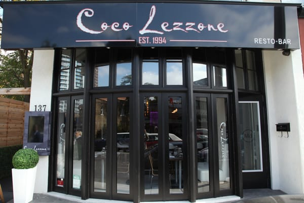 Coco Lezzone Opening Times in Toronto, ON