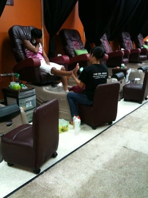 Black Owned Nail Salons Near Me : black, owned, salons, JAZZY, SALON, Salons, Buena, Vista, Columbus,, Phone, Number
