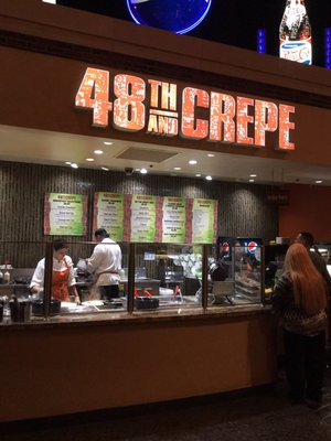 48th and Crepe Opening Times in Las Vegas, NV