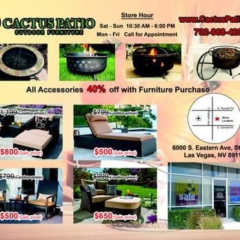 cactus patio outdoor furniture stores