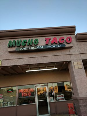 Mucho Taco Opening Times in Chandler, AZ