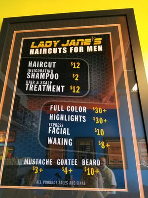 Lady Jane's Haircut Prices : jane's, haircut, prices, Janes, Haircuts, Brandon, Brandon,, Barbers, MapQuest