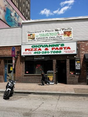 Giovanni's Pizza & Pasta Opening Times in Pittsburgh, PA