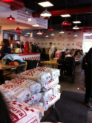 Five Guys Burgers and Fries Opening Times in Calgary, AB