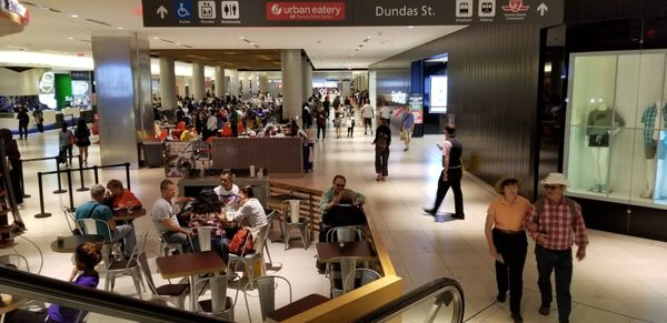Urban Eatery at the Eaton Centre Opening Times in Toronto, ON