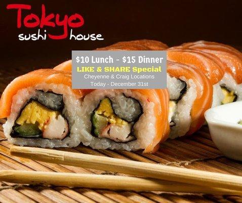 Tokyo Sushi House Opening Times in Las Vegas, NV