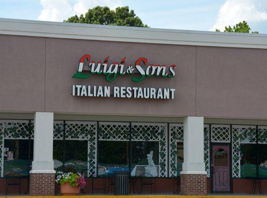 Luigi & Sons Italian Restaurant Opening Times in Rock Hill, SC