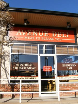 Avenue Deli Opening Times in Calgary, AB