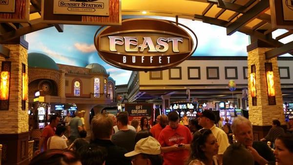 Feast Buffet Opening Times in Henderson, NV
