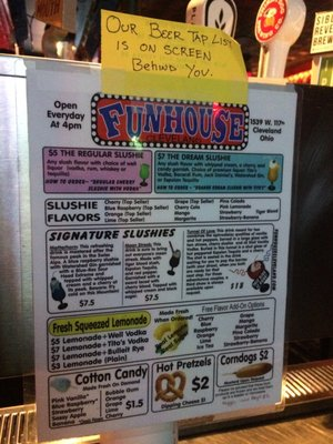 Funhouse Opening Times in Lakewood, OH