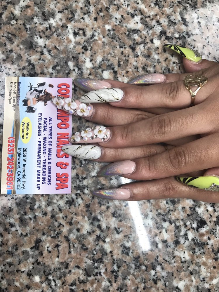 Nail Shop On Crenshaw And Imperial : crenshaw, imperial, Contempo, Nails, &, Photos, Reviews, Salons, Imperial, Inglewood,, Phone, Number
