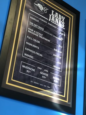 Lady Jane's Haircut Prices : jane's, haircut, prices, Janes, Haircuts, 10185, Telegraph, Taylor,, Barbers, MapQuest