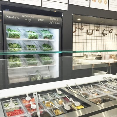 The Baro Chopped Salad Shoppe Opening Times in Toronto, ON