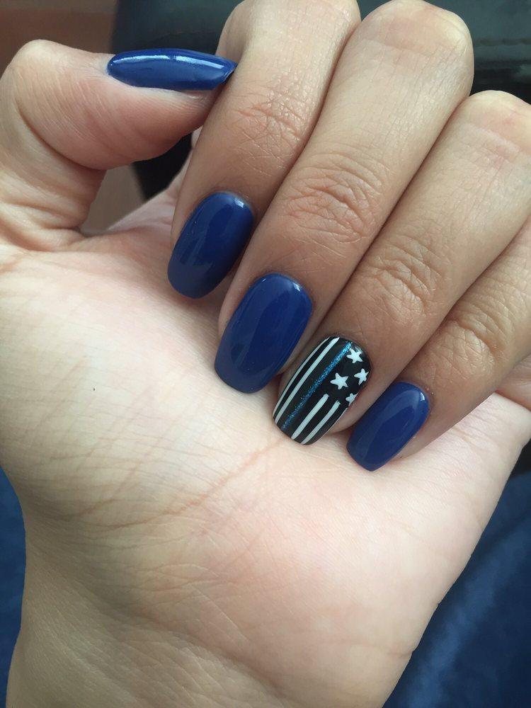 Thin Blue Line Nails : nails, CENTURY, NAILS, Photos, Reviews, Salons, Bernardino, Covina,, Phone, Number