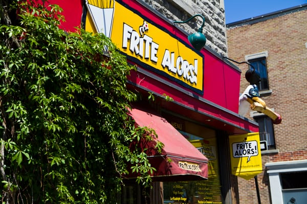 Frite Alors Opening Times in Montréal, QC