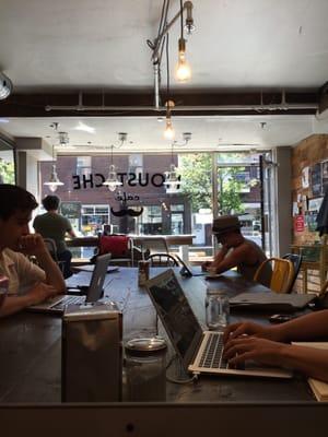 Moustache Café Opening Times in Montréal, QC