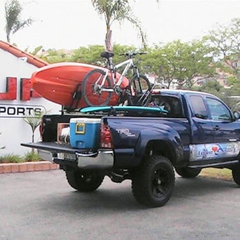 toyota tacoma with l2s sport rack