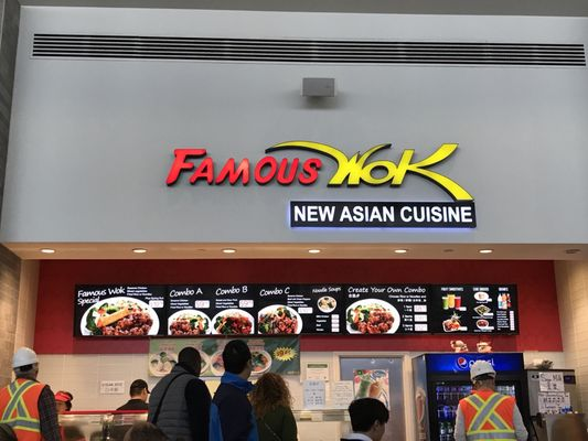 Famous Wok Opening Times in Halton Hills, ON