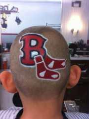 custom haircut design perfectly