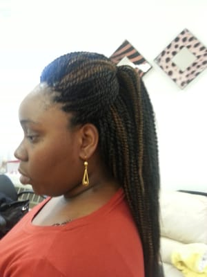 very very long box braids with expressions hair hair