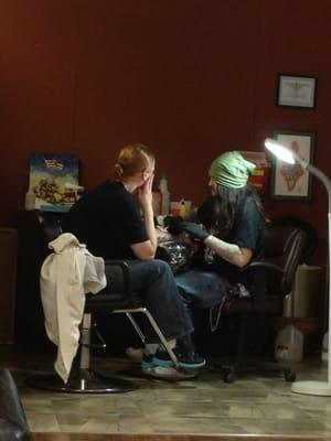 Electric Chair Tattoo  Tattoo  Flint MI