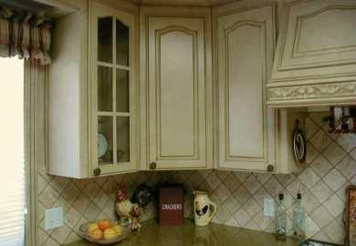 Glazed Old Kitchen Cabinets
