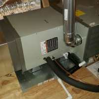 This is a horizontal furnace and evaporator coil ...