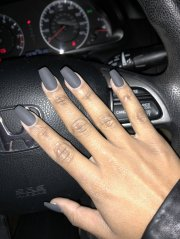 matte dark gray sns - yelp