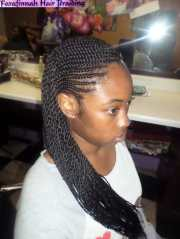 front cornrows twist - yelp
