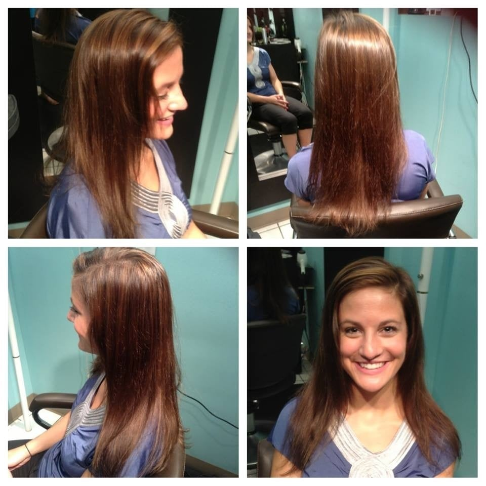 My hair was jet black after a dye job gone wrong at a ...