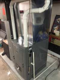 New 90 percent furnace install - Yelp