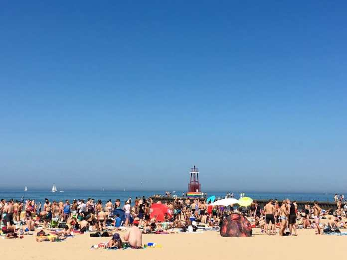 Photo of Kathy Osterman Beach - Chicago, IL, United States. Memorial Day 2016