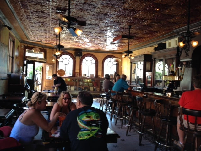 Palace Saloon - Fernandina Beach, FL, United States. Inside the Palace Saloon