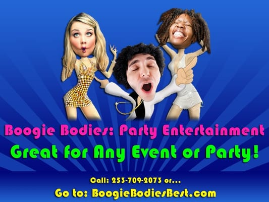 boogie bodies party entertainment