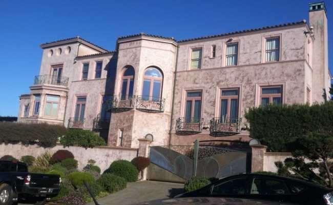 Robin Williams Old House Across From China Beach Rip