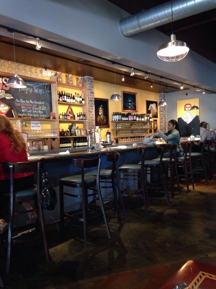The bar area  Yelp