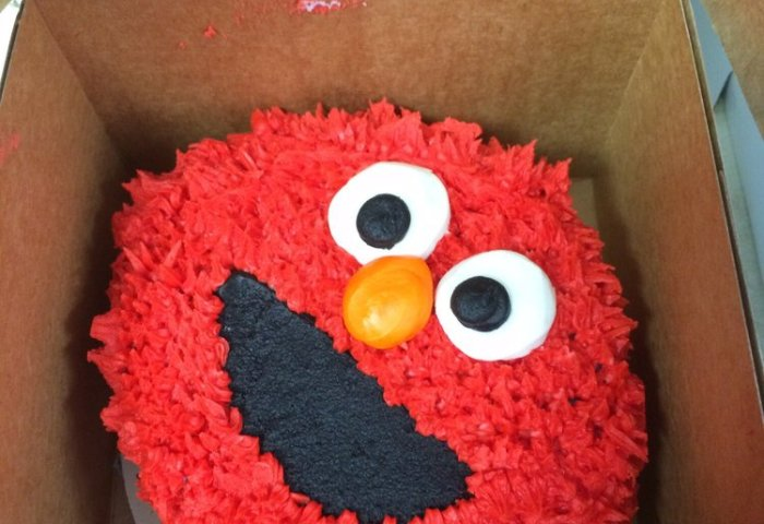 Elmo Smash Cake By Perfection Confection Yelp