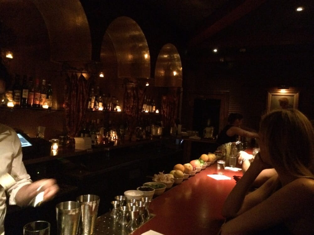 Almost an old school SF bar Classy with a splash of