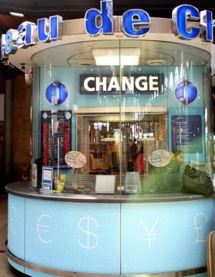 photo of ice international currency exchange paris france ice bureau de change