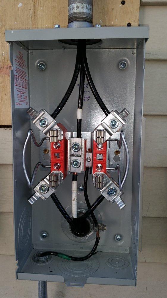 Meter Base Wireing Diagram