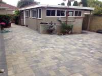 Angelus Courtyard Paver Patio, in Gray Moss Charcoal ...