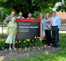 3 Generations Of Tharp Veterinarians - Family Stands
