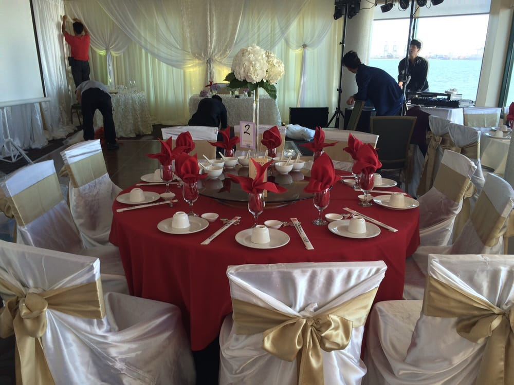 simply elegant chair covers and linens small bean bag sweetheart table backdrop in the background photo of events san mateo ca united states