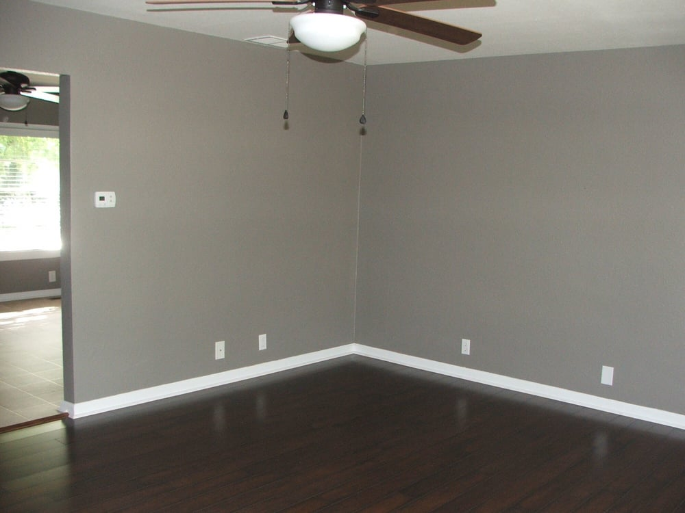 Laminate Flooring Grey Walls