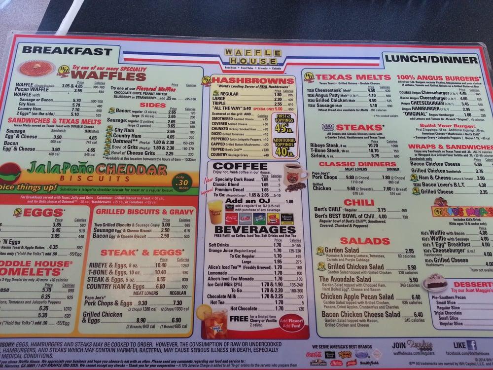 Waffle House Mobile Al